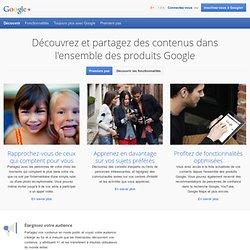 Le projet Google+