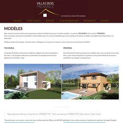 Maisons ossature bois: Découvrez nos modèles, perspectives et plans