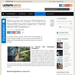 Suunto Spartan Trainer Wrist HR Outdoor