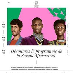 Découvrez le programme de laSaison Africa2020 - We Love Green...