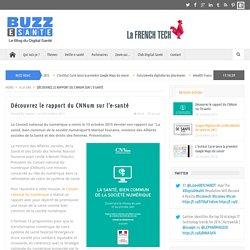 Découvrez le rapport du CNNum sur l'e-santé