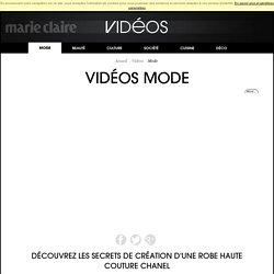 Découvrez les secrets de création d'une robe Haute Couture Chanel