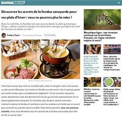 Découvrez les secrets de la fondue savoyarde pour vos plats d'hiver : vous ne pourrez plus la rater !