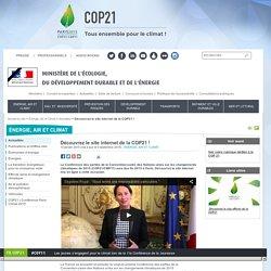 Découvrez le site internet de la COP21 !