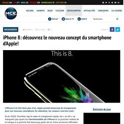 iPhone 8: découvrez le nouveau concept du smartphone d'Apple!