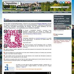 Découvrez Angoulême... sur vos smartphones et tablettes ! - Site officiel de la ville d'Angoulême