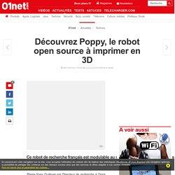 Découvrez Poppy, le robot open source à imprimer en 3D