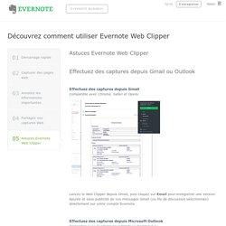 Découvrez comment utiliser Evernote Web Clipper