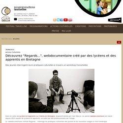 """Découvrez """"Regards..."""", webdocumentaire créé par des lycéens et des apprentis en Bretagne"""