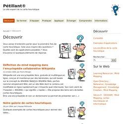 Découvrir la carte mentale: Petillant, LE site à consulter