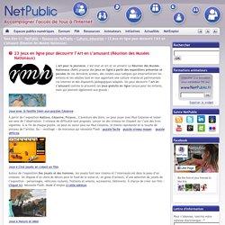 23 jeux en ligne pour découvrir l'Art en s'amusant (Réunion des Musées Nationaux)
