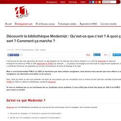 Bibliothèque Modernizr : Compléter HTML5/CSS3