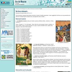 Des livres à découvrir... - Collège Arc de Meyran à Aix en Provence