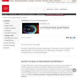 Découvrir & Comprendre - La mécanique quantique