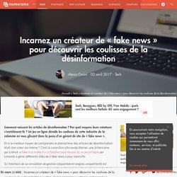 Incarnez un créateur de « fake news » pour découvrir les coulisses de la désinformation - Tech