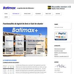 Découvrir les fonctionnalités du logiciel de suivi de chantier Batimax