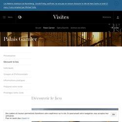 Découvrir le lieu - Palais Garnier - Visites