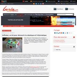 IniRobot, un kit pour découvrir la robotique et l'informatique