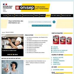 Découvrir les métiers - Onisep