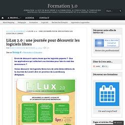 LiLux 2.0 : une journée pour découvrir les logiciels libres