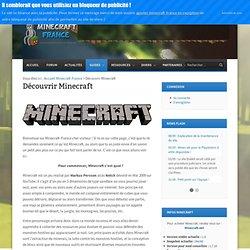 Découvrir Minecraft