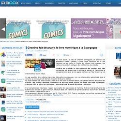 Chenôve fait découvrir le livre numérique à la Bourgogne