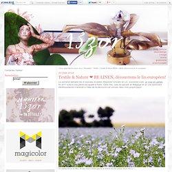 Textile & Nature ❤ BE LINEN, découvrons le lin européen! - 13zor, graphiste & coach deco - Bruxelles