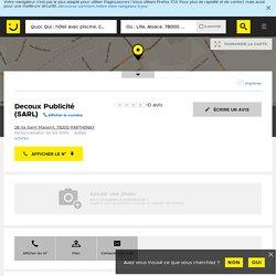 Decoux Publicité Parthenay