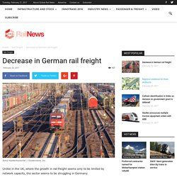 Decrease in German rail freight