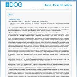 Decreto do DOG nº 171 do 2014/9/9 - Xunta de Galicia