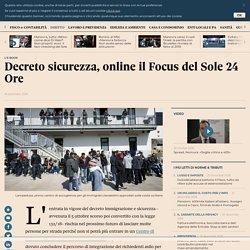 Decreto sicurezza, online il Focus del Sole 24 Ore