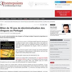 Bilan de 10 ans de décriminalisation des drogues au Portugal