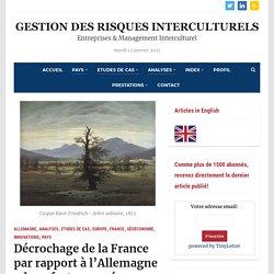 Décrochage de la France par rapport à l'Allemagne : deux facteurs méconnus