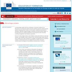 Décrochage scolaire - Commission européenne