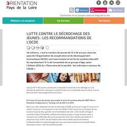 Lutte contre le décrochage des jeunes : les recommandations de l'OCDE
