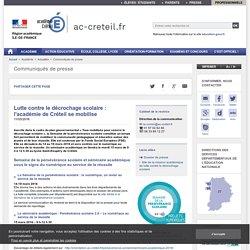 Lutte contre le décrochage scolaire : l'académie de Créteil se mobilise - ac-creteil.fr