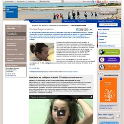 Luttons contre le décrochage scolaire - Fondation de France