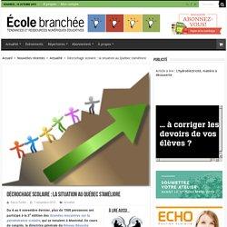 Décrochage scolaire : la situation au Québec s'améliore