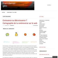 Croissance ou Décroissance ? Cartographie de la controverse sur le web « meridianes