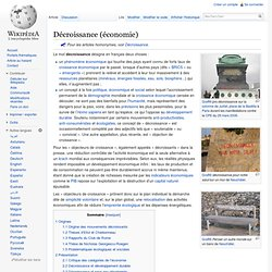 Décroissance (économie) - Wikipédia-Mozilla Firefox