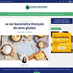 Sans gluten : décryptage du 1er baromètre français