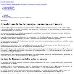 L'évolution de la démarque inconnue en France - Décryptage - Securitas Distribution