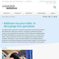 Addiction aux jeux vidéo : le décryptage d'un spécialiste