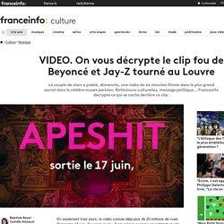 VIDEO. On vous décrypte le clip fou de Beyoncé et Jay-Z tourné au Louvre