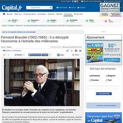 Fernand Braudel (1902-1985) : Il a décrypté l'économie à l'échelle des millénaires - Les plus grands génies de l'économie - Histoire éco - Enquêtes