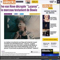 Ivo van Hove et David Bowie