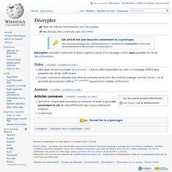 Décrypter