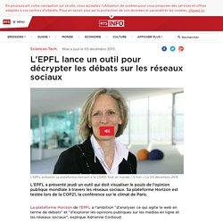 L'EPFL lance un outil pour décrypter les débats sur les réseaux sociaux - rts.ch - Sciences-Tech.