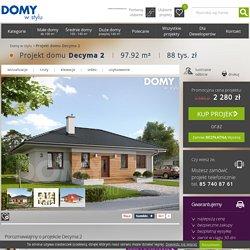 Decyma 2 projekt domu