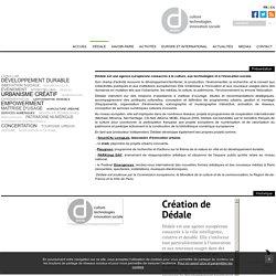 DÉDALE : agence européenne consacrée à la culture et aux technologies